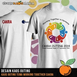Kaos-Outing-Working-Together-Cakra