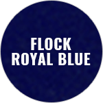 Polyflex Flock Royal Blue