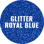 Polyflex Glitter Royal Blue