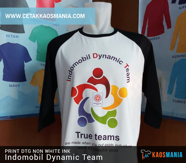 Print Kaos Gathering Indomobil Dynamic Team